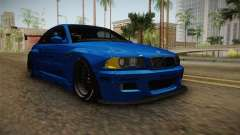 BMW M3 E46 Liberty Walk Pandem Livery para GTA San Andreas