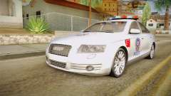 Audi A6 Turkish Police para GTA San Andreas