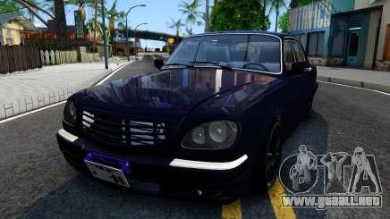 GAS de 31105 Volga para GTA San Andreas