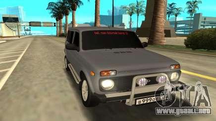 Lada Niva 2131 para GTA San Andreas