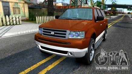 Dundreary Landstal GTA IV para GTA San Andreas