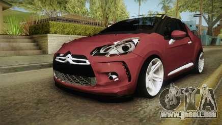 Citroen DS3 para GTA San Andreas