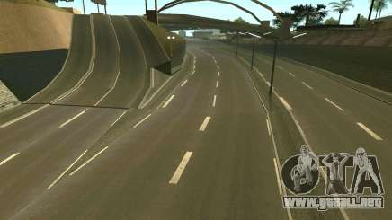 Carreteras rusas para GTA San Andreas