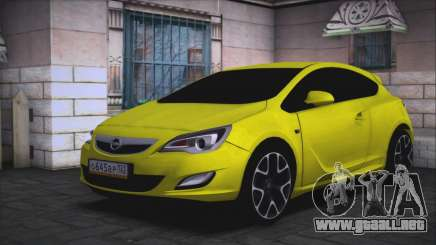 Opel Astra GTC para GTA San Andreas