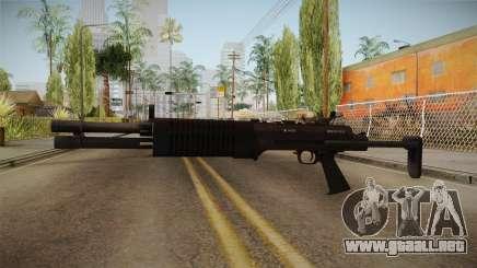 Battlefield 4 - QBS-09 para GTA San Andreas