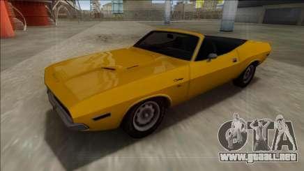 Dodge Challenger Cabrio para GTA San Andreas