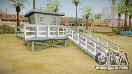 Beach of Santa Maria in HD and HQ v0.1 para GTA San Andreas