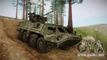 BTR-4E para GTA San Andreas