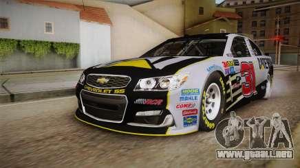 Chevrolet SS Nascar 31 Caterpillar 2017 para GTA San Andreas