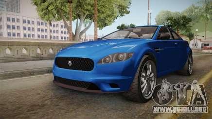 GTA 5 Ocelot Jackal 2-doors IVF para GTA San Andreas