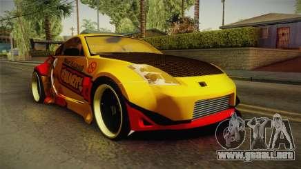 Nissan 350Z Nao Tomori Itasha para GTA San Andreas