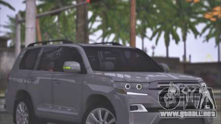 Toyota Land Cruiser 200 Sport Design para GTA San Andreas