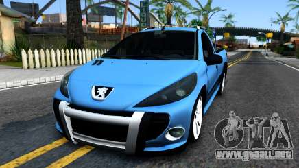 Peugeot Hoggar para GTA San Andreas