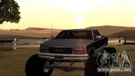GMC Sierra 2500 Monster 1998 para GTA San Andreas