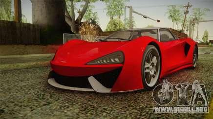 GTA 5 Progen Itali GTB IVF para GTA San Andreas