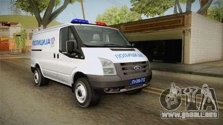 La Policía De Tránsito De Ford para GTA San Andreas