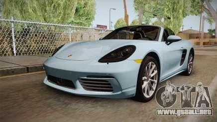 Porsche 718 Boxster S Cabrio para GTA San Andreas