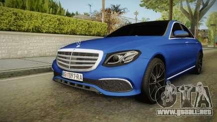 Mercedes-Benz E530 Serbian Mafia para GTA San Andreas