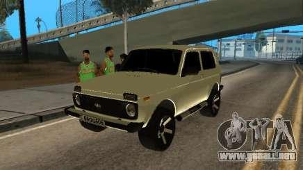 Vaz 2121 Niva Armenian para GTA San Andreas