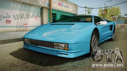 GTA 5 Infernus Classic para GTA San Andreas