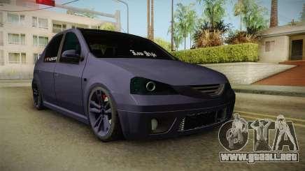 Dacia Logan Low Style para GTA San Andreas