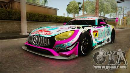 Mercedes-Benz AMG GT3 Goodsmile Racing 2017 para GTA San Andreas