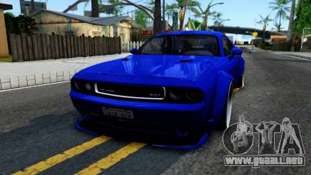 Dodge Challenger SRT8 Liberty Walk para GTA San Andreas