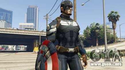 Captain America Shield Throwing Mod para GTA 5