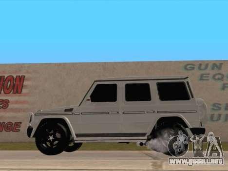 Mercedes-Benz G65 AMG 2012 para GTA San Andreas left