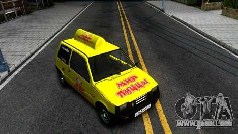 "VAZ 1111 ""Oka"" Mundo de la Pizza para GTA San Andreas"