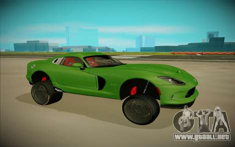 Dodge Viper GTS Off Road para GTA San Andreas