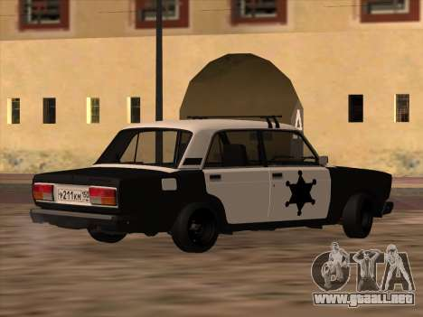 Sheriff HUNTER 2107 para GTA San Andreas
