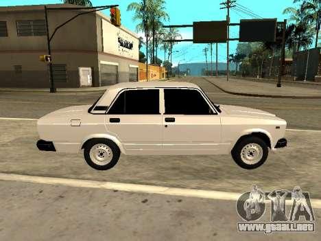 VAZ 2107 Armenian para GTA San Andreas