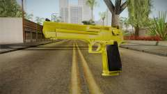Gold Desert Eagle para GTA San Andreas