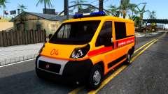 Fiat Ducato De Emergencia para GTA San Andreas