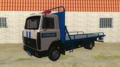 MAZ camión de Remolque de la Policía para GTA San Andreas