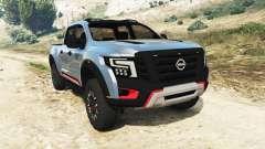 Nissan Titan Warrior Concept 2016 para GTA 5