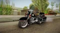 GTA 5 Police Bike SA Style para GTA San Andreas