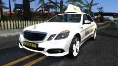 "Mercedes-Benz E500 W212 ""Yandex Taxi"" para GTA San Andreas"