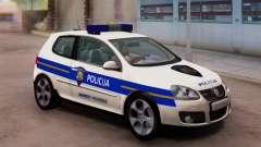 Golf V Croata Coche De Policía para GTA San Andreas