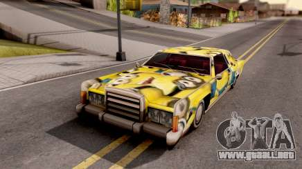 New Remington Paintjob v6 para GTA San Andreas