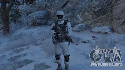 Flat Snow Camo para GTA 5