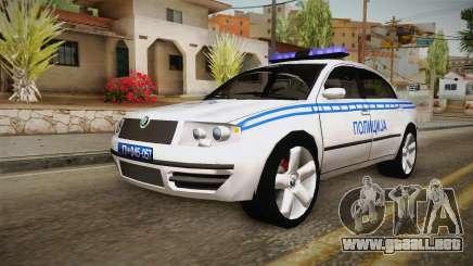 Skoda Superb Serbian Police v2 para GTA San Andreas
