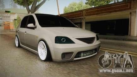 Dacia Logan Romania Edition para GTA San Andreas