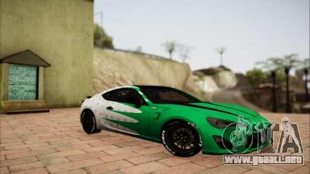 Subaru BRZ blanco para GTA San Andreas