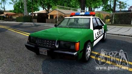 LSPD Police Car para GTA San Andreas