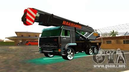 KamAZ 65117 Ivanovic para GTA San Andreas