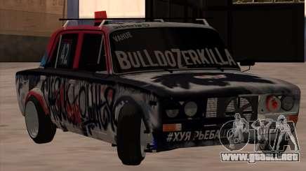 VAZ 2106 BuldozerKilla para GTA San Andreas