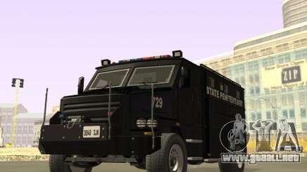 International 4000 Police Special para GTA San Andreas