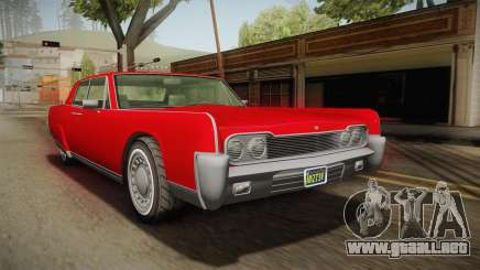 GTA 5 Vapid Chino Continental para GTA San Andreas